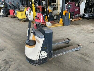 2016 Crown WP3035-45 Used Electric Pallet Jack w/New Batteries