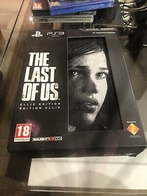 The Last of Us (Sony PlayStation 3, 2013) Ellie Édition Collector