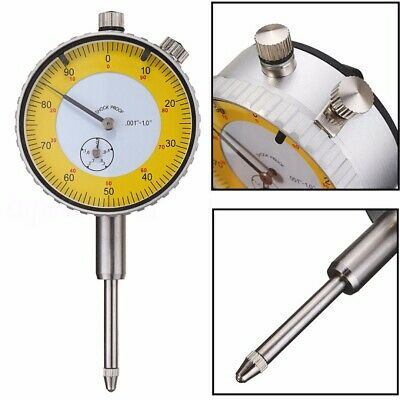 "UK` 0.001""-1.0"" Precision Dial Test Indicator Lever Gauge Meter Measuring Tool"
