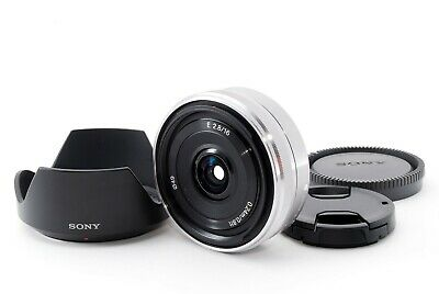 SONY 16mm f/2.8 SEL16F28 Wide Angle Lens w/ Hood [Exc+++] from Japan F/S 604766