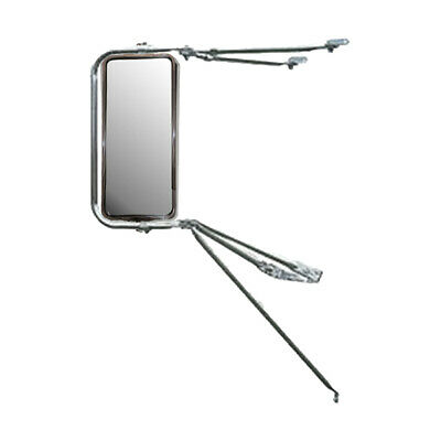Adjustable Top Arm Assembly Stainless Steel West Coast Heated Mirrors