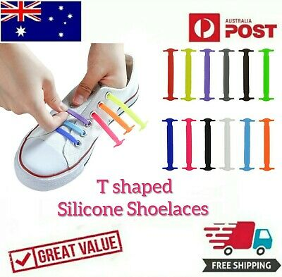 Elastic Silicone No Tie  Shoe Laces Sports Shoelaces Unisex Runners Sneakers