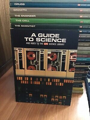 TIME LIFE SCIENCE LIBRARY 26 VOLUMES 1960'S VERY GOOD CONDITION + Index Complete
