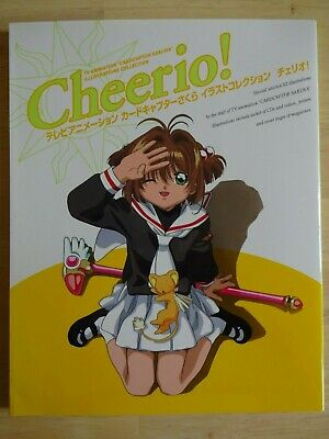 Cardcaptor Sakura Cheerio! Artbook, TV Anime, Japan