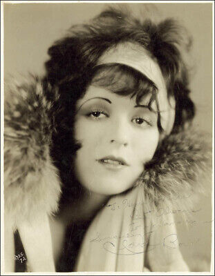 Clara Bow - Autographed Inscribed Photograph