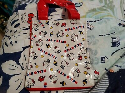 Hello Kitty Vintage 35th Anniversary Bag Tote NWT