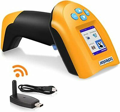 NS2203 Wireless Barcode Scanner 1D USB Handheld Bar Code Reader Laser Cordless D