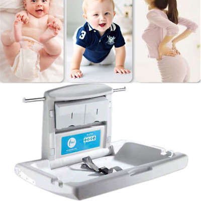 Baby Change Table Station Wall Mounted Folding for Toilet Public Restrooms Home