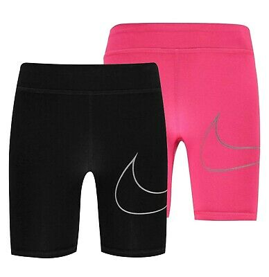 Girls Nike Sports Lifestyle Training Cycling Shorts Sizes Age from 2 to 7 Yrs