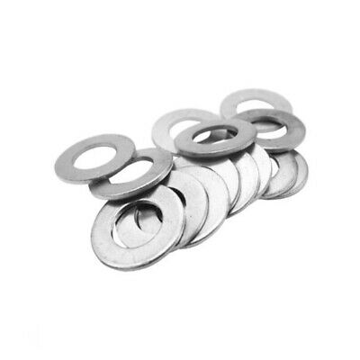 Inner Dia.4~30mm Solid Aluminum Gasket Alu Flat Ring Sealing Washer(Thick 1.5mm)