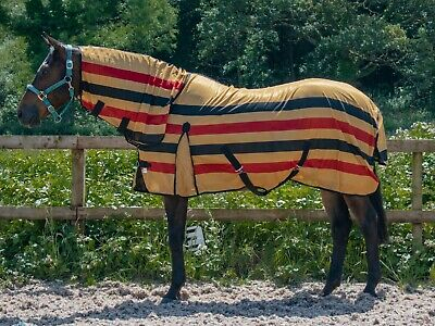 Fly Rug Horse Combo Sheet Light Weight Summer Fly Sheet With Neck 5Ft - 7Ft