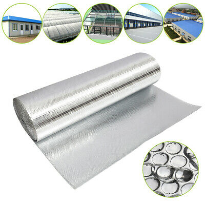 Sola 1.0m Wide Reflective Bubble Core Double Foil Thermal Barrier Insulation