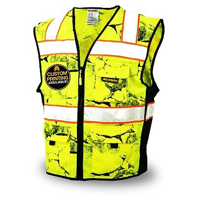 KwikSafety UNCLE WILLY'S WALL High Vis Reflective ANSI Class 2 Safety Vest