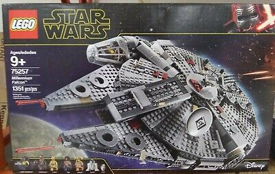 Lego Star Wars The Rise Of Skywalker Millennium Falcon 75257 149 95 Picclick