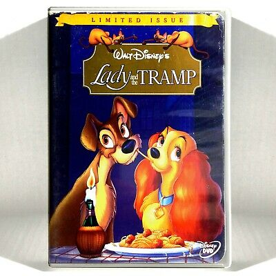Walt Disney's - Lady and the Tramp (DVD, 1955, Widescreen, Limited Issue)