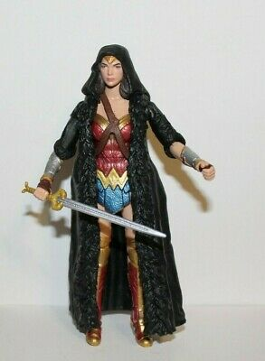DC Comics Multiverse WONDER WOMAN 6in Figure With Cape & Sword ~ CNC Ares