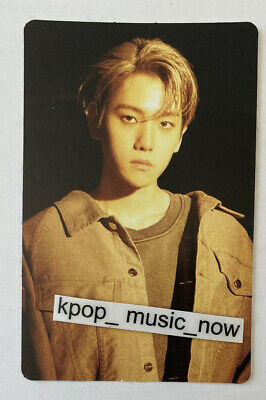 Glossy BAEKHYUN Official Sticker Photocard X-exo Superm City Lights Album Kihno