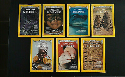 NATIONAL GEOGRAPHIC MAGAZINE - 1975 Sold individually