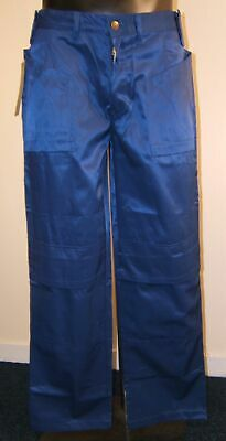 BLUE heavy duty work pants with free knee pads lots of sizes