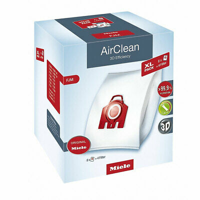 Miele 10455190 Type Fjm Bags Red Xl Pack