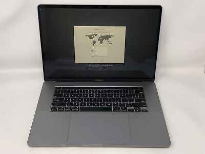 MacBook Pro 16-inch Space Gray 2019 2.3GHz i9 16GB 1TB SSD Good Condition