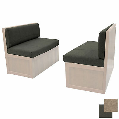 """36"""" RV Fossil Cloth Memory Foam Dinette Booth Cushions Dining Camper Furniture"""