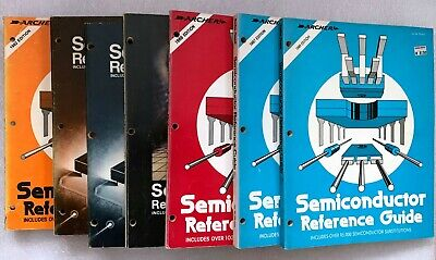 Archer Semiconductor Reference Guides. 1982-1989 Editions RADIO SHACK. No 1988