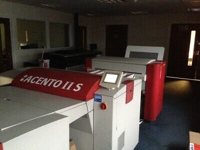 Agfa Acento II S CtP Year: 2006 CtP with SA-L Year: 2007