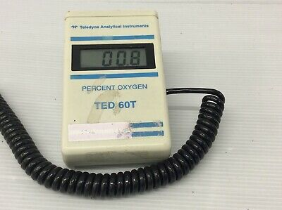 Teledyne Analytical TED 60T Oxygen Analyser (Digital LCD) Missing Battery Cover