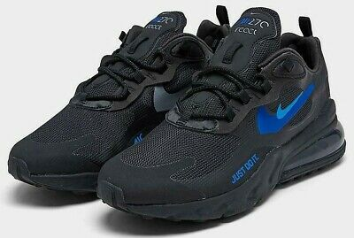 NIKE AIR MAX 270 REACT $150 Men's Running shoes AUTHENTIC NEW CT2203 001 Black
