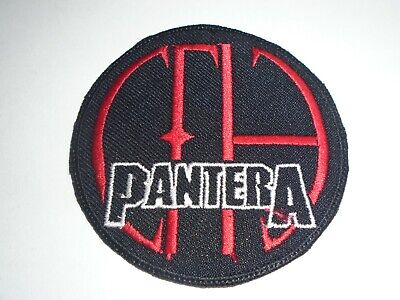 Pantera Cowboys From Hell Iron On Embroidered Patch
