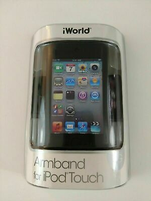 New iWorld Armband for iPod Touch 4G Active Protection Black Fast Free US SHIP
