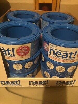 Safety First Neat! Diaper Disposal System Refill Cartridge 120 Capacity New