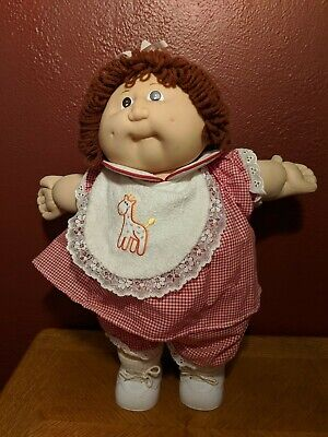 Brown Hair Cabbage Patch Kids Doll - 1980s- by Coleco Industries