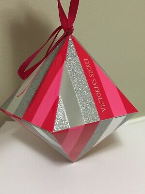 Victorias Secret Gift Card Box Holder Ornament Christmas Tree Rare Collectible