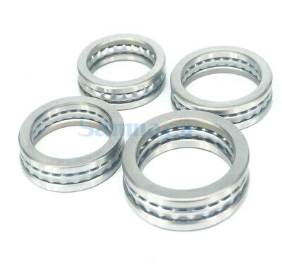 I/D 100mm To 190mm Axial Ball Thrust Bearing Set(2 Steel Races + 1 Cage) ABEC-1
