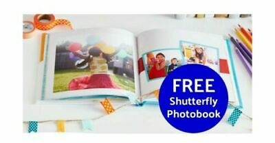 Shutterfly 8X8 Hard Cover Photo Book Coupon Promo Code expires 6/30/2020