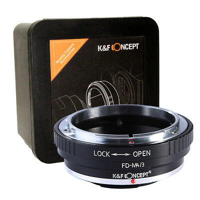K&F Concept FD-M4/3 Adapter Canon FD to Micro Four Thirds FD-MFT M43 (KF06.091)