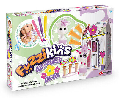 Fuzzikins Florist Wash & Colour Play Set