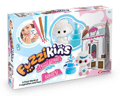Fuzzikins Cupcake Bakery Colour Wash & Play Set