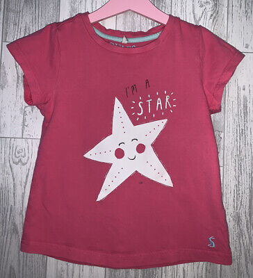 Girls Age 7-8 Years - Joules T Shirt Top