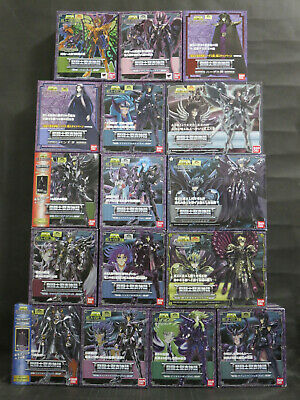 "BANDAI Saint Seiya Myth Cloth ""Hades Surplice"" 16 figures set"