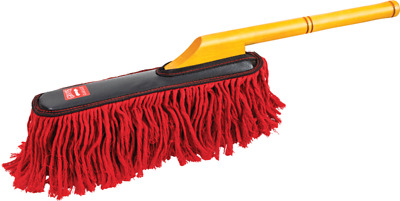 Griots Garage Car Duster 11408 Cotton Car Duster Red