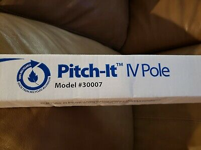 Sharps Compliance Pitch-It IV Pole 30007 New Healthcare Accessories Aluminum
