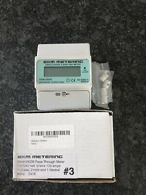 120/240V kWh Electric Meter 100A #3