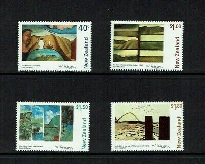 New Zealand: 1997  Paintings by Colin McCahon,  MNH set