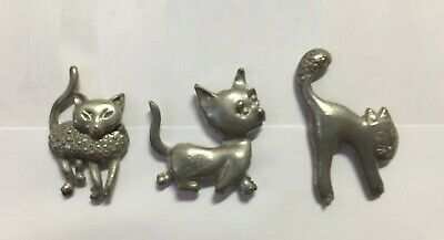 3 Bigs Pin's Lapel Pin Races De Chat Felin