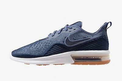 MENS NIKE AIR MAX SEQUENT 4 Black Trainers AO4485 005 EUR