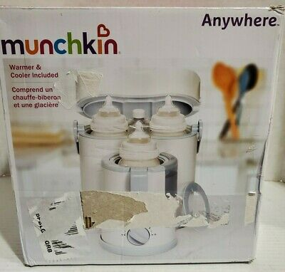 Munchkin Anywhere Night and Day Bottle Warmer/Cooler **BRAND NEW**