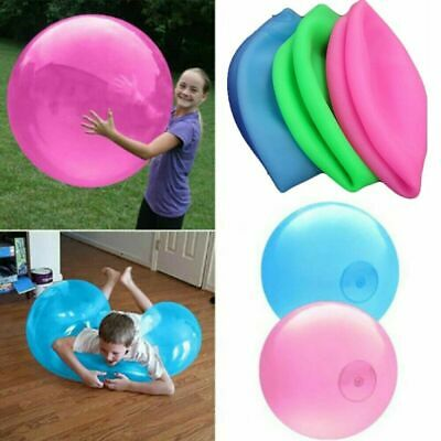 40/80cm Inflatable Wubble Bubble Ball Balloon Stretch Outdoor Beach Kids Toy